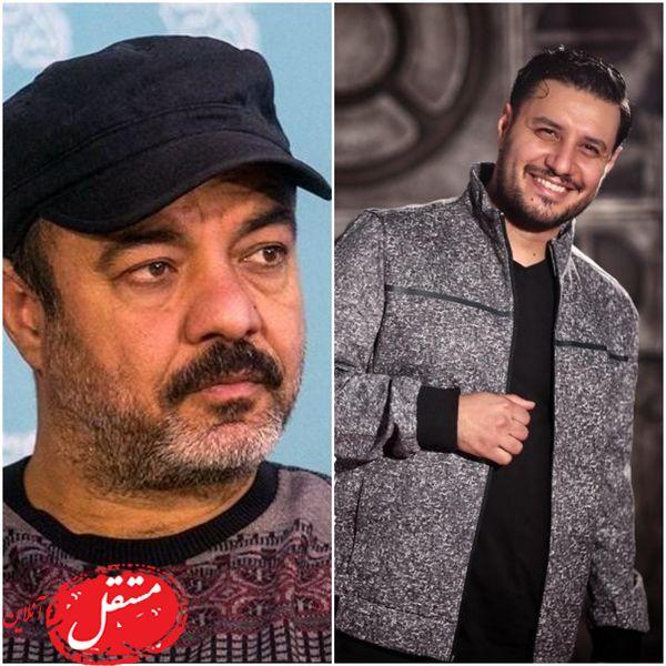 شوخی زشت سعید آقاخانی با جواد عزتی (عکس)