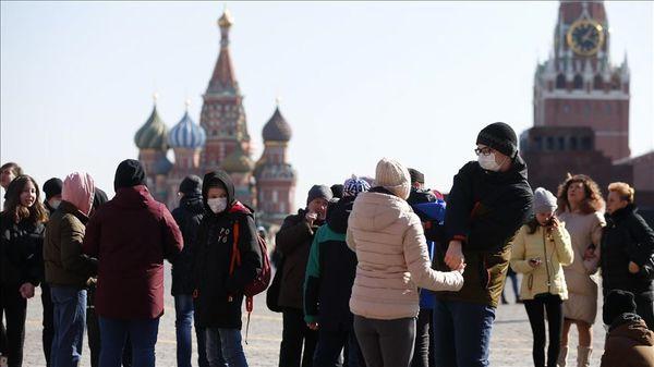 تعداد فوتی ها در روسیه به 900 نفر در روز رسید