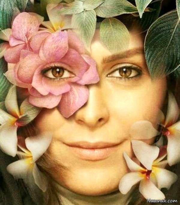 عکس گل گلی ماه چهره خلیلی