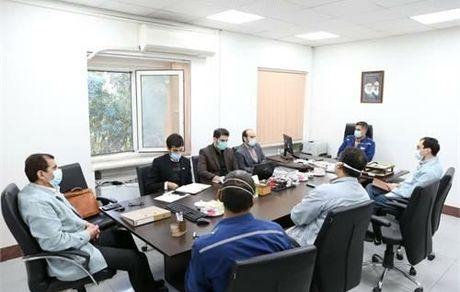 جلسه ارزیابی پنجمین جشنواره ملی نوآوری محصول برتر ایرانی در شرکت فولاد خوزستان برگزار شد