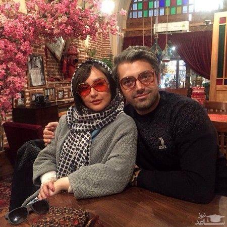 عکس همسر واقعی بازیگر سریال بچه مهندس + عکس