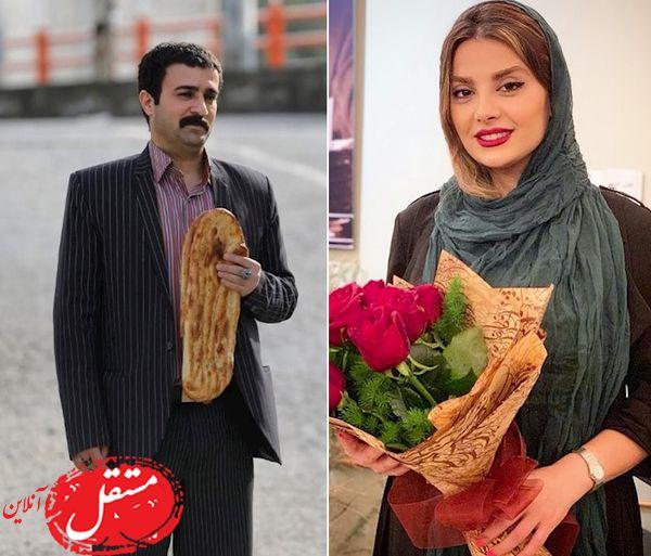 عاشقانه های احمد مهرانفر ( ارسطوی پایتخت) و همسرش در روز ولنتاین + تصاویر
