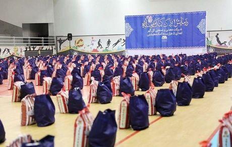 اهدای ۵ هزار بسته کمکمعیشتی توسط گلگهر