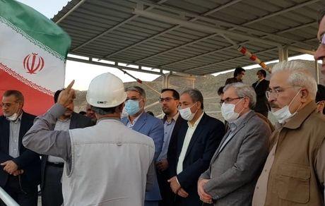 بازدید رئیس کل دادگستری استان یزد از مجتمع معدنی چادرملو