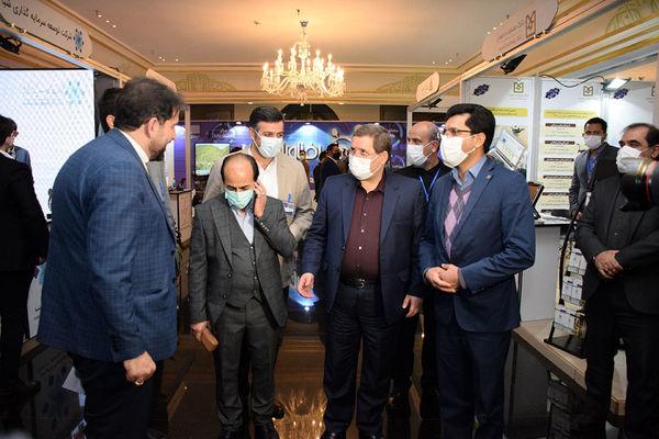 بازدید مدیرعامل بانک صنعت و معدن از ششمین نمایشگاه تراکنش ایران