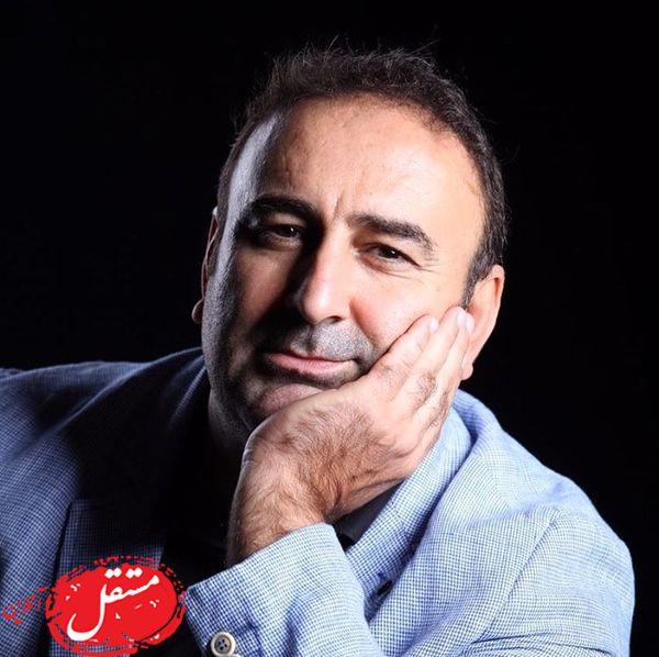 ژست بی تفاوت مهران احمدی + عکس