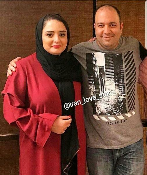 نرگس محمدی و همسرش + عکس