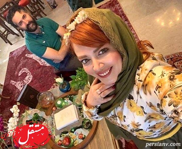 عاشقانه های دیده نشده بهاره رهنما و همسر دومش + تصاویر