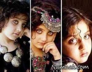 زیباترین چشم های جهان متعلق به این دخترمی باشد+ تصاویر