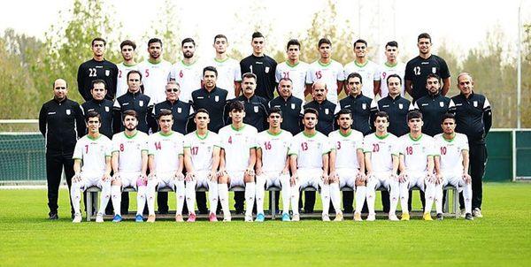 تمرین پرنشاط جوانان در مرکز ملی فوتبال