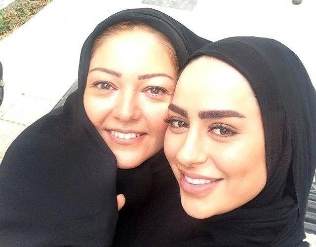 سمانه پاکدل و رزیتا غفاری