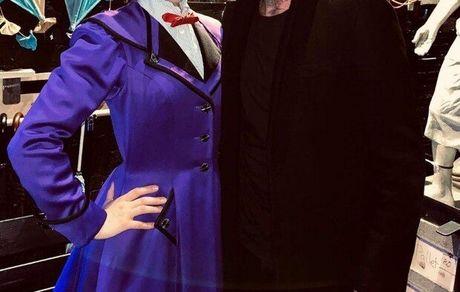 «مری پاپینز» در لندن میزبان «دیوید بکهام» بود