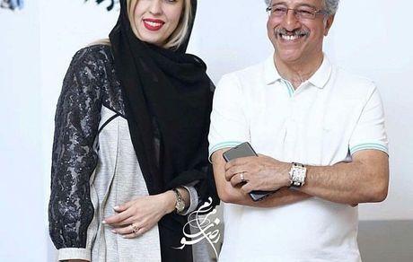 علیرضا خمسه و همسر جوانش + عکس