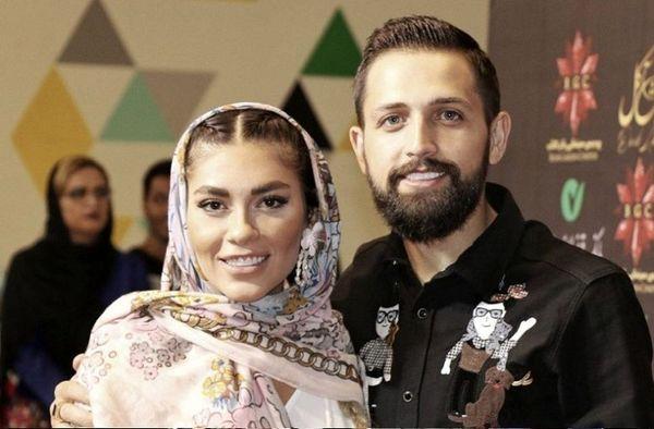 حمله جنجالی به محسن افشانی و همسرش+ فیلم و عکس