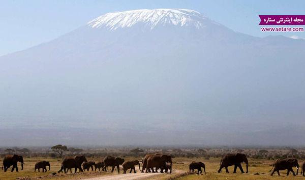 کلیمانجارو، تانزانیا، دیدنیهای قاره آفریقا