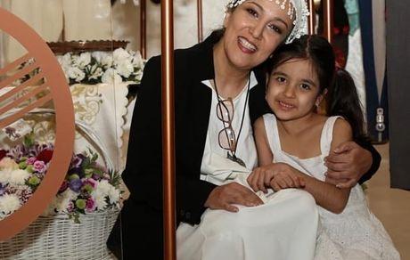 پانته آ بهرام و خواهر زاده اش در مهمانی + عکس
