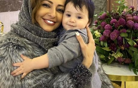 دختر مهران غفوریان در آغوش نفیسه روشن + عکس