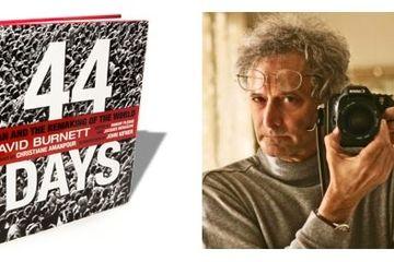 افتتاح نمایشگاه عکس «44 روز» در گالری آبانبار / زیرپوست انقلاب از نگاه دوربین «دیوید  برنت» + تصاویر