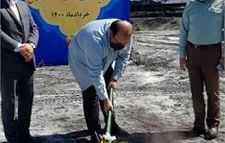 آیین کلنگ زنی پروژه احداث دیوار توری واحد انباشت و برداشت شرکت فولاد خوزستان برگزار شد