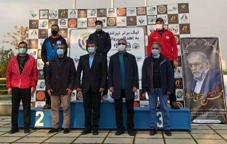 برد تیم پگاه در هفته سوم مسابقات لیگ برتر تیراندازی