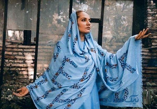 آواز خوانی زنده ابی برای مهناز افشار + فیلم و عکس