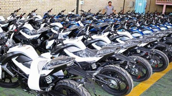 قیمت انواع موتورسیکلت پنجشنبه ۲۰ شهریور